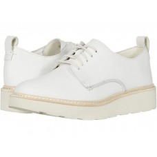 Clarks Trace Walk White Leather CSBQZQWBWP