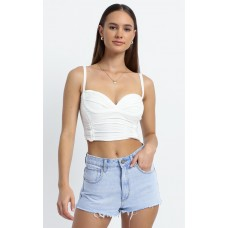Abrand - A High Relaxed Denim Short in Smooth MJIKNABQVH
